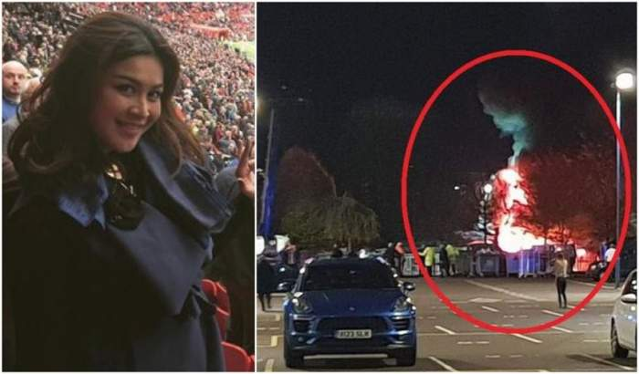 FOTO / Ultima poză cu fosta Miss Thailanda în viață, înainte de tragedia în care a murit și patronul Leicester City