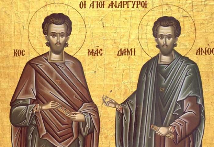 Sărbătoare pe 1 noiembrie! Creştinii prăznuiesc doi mari sfinţi, făcători de minuni