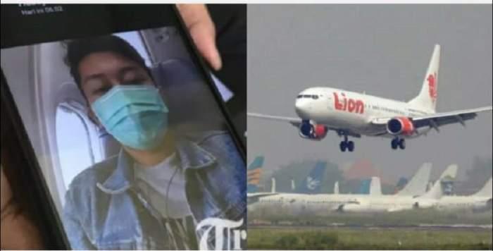 FOTO / Avionul prăbuşit în Indonezia avea probleme grave la motor! Ultimul mesaj trimis de un pasager soţiei sale