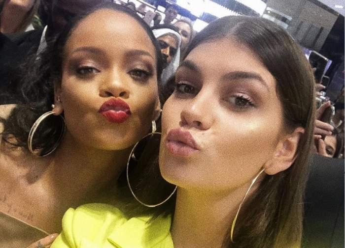 """FOTO / Laura Giurcanu se """"trage"""" în selfie-uri cu Rihanna, în Dubai"""