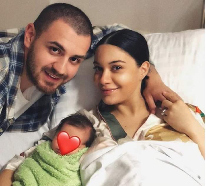 Motivul pentru care Betty Salam şi Cătălin Vişănescu ascund chipul băieţelului! Artista a spus adevărul