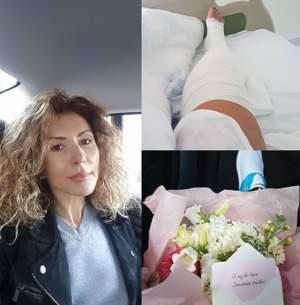 """Carmen Brumă, pe patul de spital, după ce a fost operată: """"Voi rata maratonul"""""""
