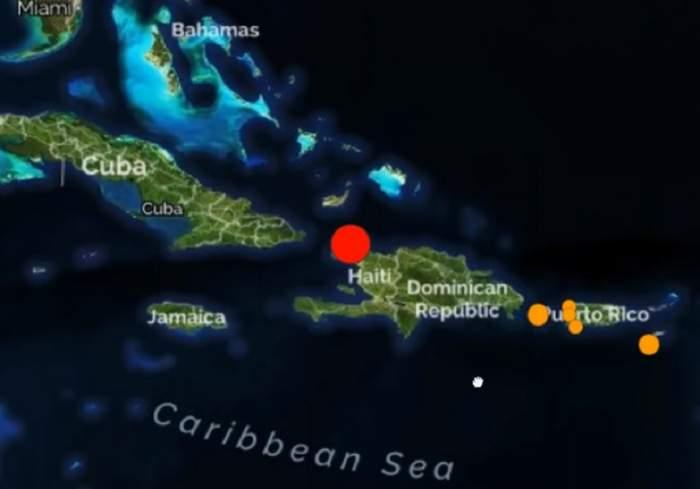 Un cutremur puternic a zguduit Haiti! Sunt mai mulți morți și răniți