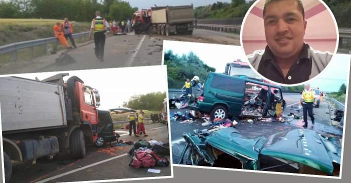 """Accidentul din Ungaria. Mesajul sfâșietor al copiilor lui Petru Kalau, șoferul vinovat de producerea tragediei: """"Veghezi asupra noastră"""""""