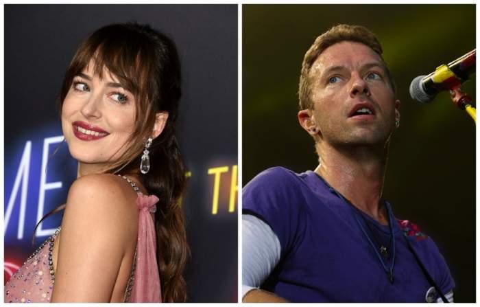 """Dakota Johnson, dezvăluiri despre copilul pe care l-ar aștepta împreună cu solistul trupei Coldplay: """"A fost un motiv de sărbătoare"""""""