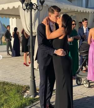 FOTO / Andreea Popescu încearcă să mascheze kilogramele acumulate în timpul sarcinii. Cum s-a afișat la un eveniment