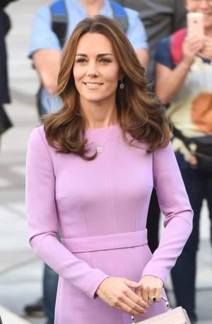 """FOTO / Kate Middleton, opusul lui Meghan Markle! S-a afișat cu o rochie """"reciclată"""", la un eveniment de mare importanță"""
