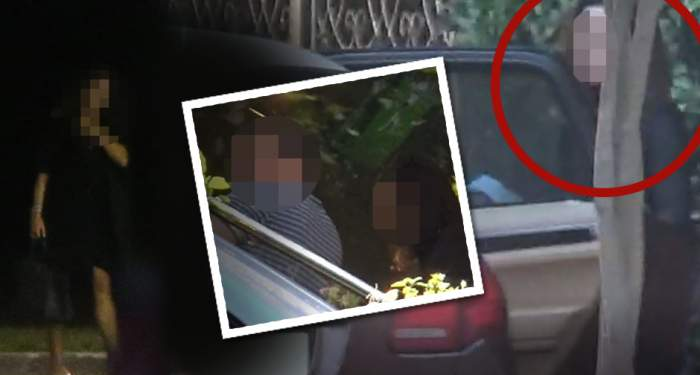 PAPARAZZI / VIDEO EXCLUSIV / Gestul neaşteptat făcut de nevasta de milionar, după escapada cu amantul fotbalist! Cum a fost filmată femeia!