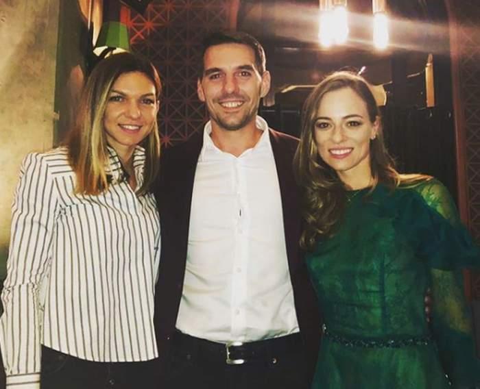 """Simona Halep a petrecut alături de fostul Principe Nicolae şi de Alina Binder. """"Ne-a urat Casă de piatră"""""""
