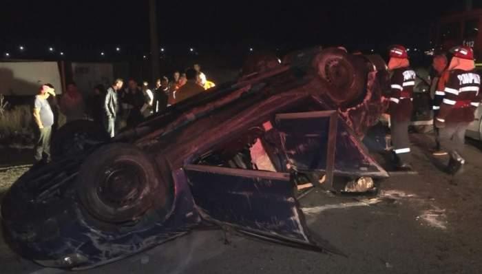 FOTO / Accident îngrozitor în Drobeta Turnu Severin! O întreagă familie a fost spulberată de un șofer beat