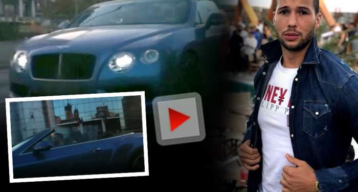VIDEO EXCLUSIV / Tristan Tate schimbă femeile ca pe şosete! Milionarul a defilat cu o bunăciune în Ploieşti