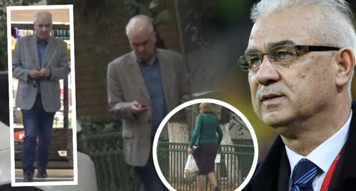 """VIDEO PAPARAZZI / """"Tata Puiu"""" e mână largă! Anghel Iordănescu, surprins în timp ce dădea şpagă"""