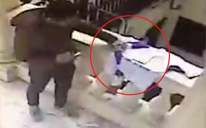 VIDEO / Incident șocant la altarul în memoria patronului Leicester! Un bărbat s-a pus pe furat, iar totul a fost filmat