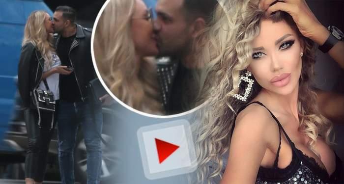 VIDEO PAPARAZZI / Ce îndrăgostită este Bianca Drăguşanu de noul iubit, Alex Bodi! L-a sărutat în plină stradă şi nu îl scapă din ochi