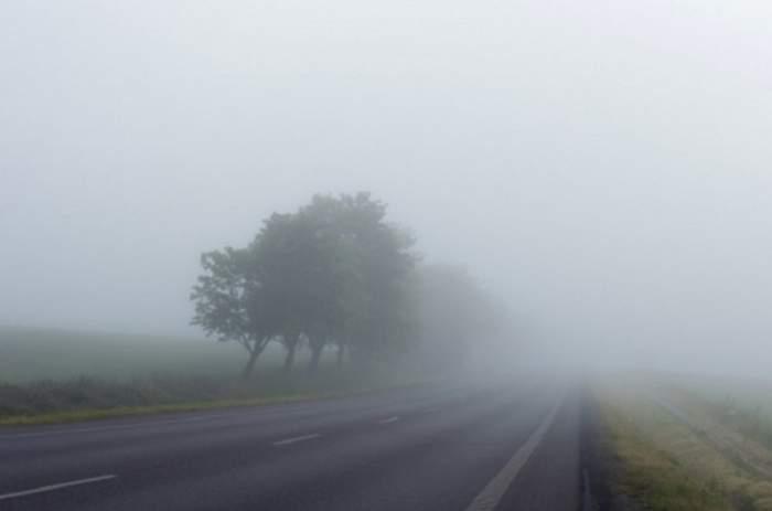 Alertă meteo! Cod galben de ceață, în mai multe județe din țară