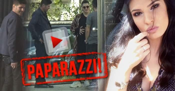 VIDEO PAPARAZZI / Raluca Ogică e cea mai dură graviduţă! Înainte de a-i dărui un nepot, şi-a scos tatăl la raport