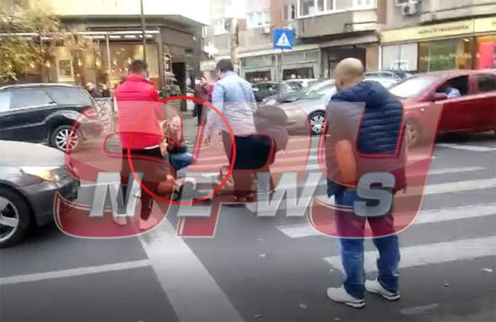 VIDEO / Accident înfiorător în Capitală! O femeie a fost spulberată pe trecerea de pietoni