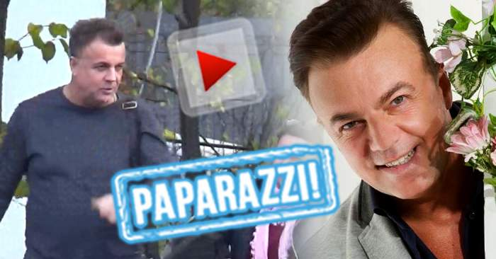 VIDEO PAPARAZZI / Graba, bat-o vina! Adrian Enache, surprins în timp ce circula printr-un loc interzis