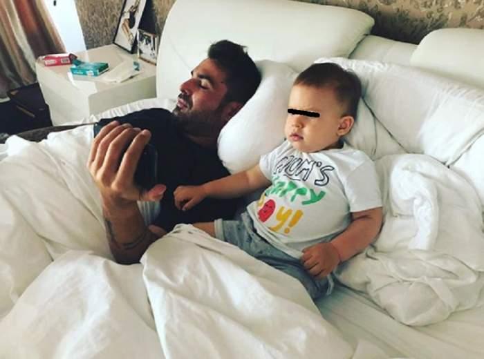 """FOTO / Bucurie mare în familia lui Adrian Mutu! """"Briliantul"""" a dat vestea cea mare, la un an jumătate de la nașterea lui Tiago"""