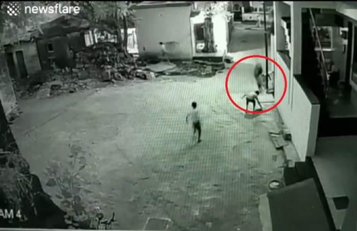 VIDEO / Un copil de 11 ani a căzut de la etajul 3 al blocului în care locuia. Ce a urmat e șocant!