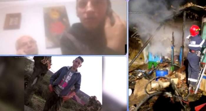 VIDEO / Condamnat la singurătate! Mama i s-a stins când avea 3 ani, iar tatăl a murit ars, în timp ce îi pregătea copilului cina
