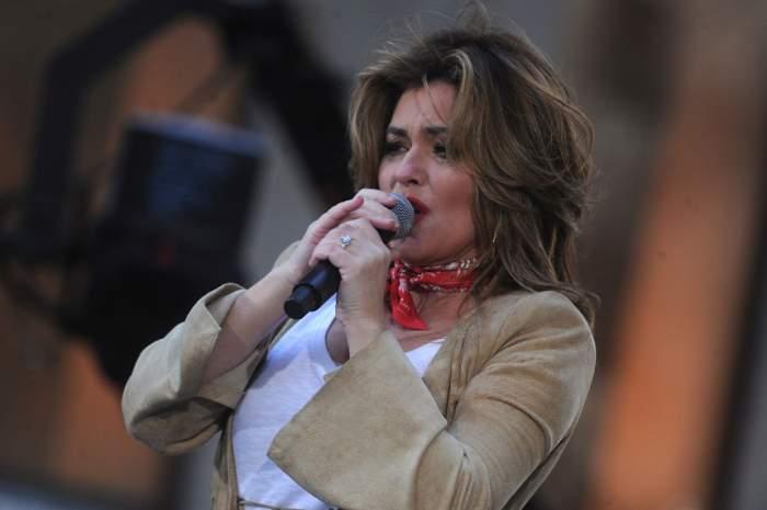 """Shania Twain, moment penibil în timpul unui concert: """"Am făcut pipi pe scenă"""""""