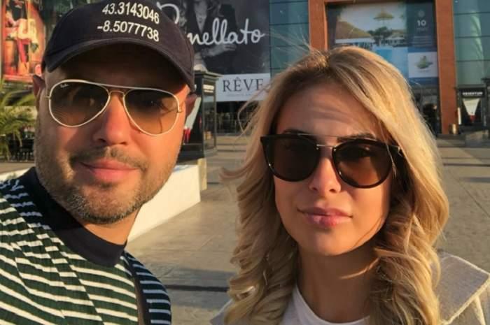 FOTO / De mână la medicul estetician! Mihai Mitoşeru şi soţia scapă amândoi de imperfecţiuni