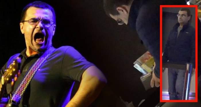 """VIDEO PAPARAZZI / Îl """"iubește"""" femeile, dar nu prea """"iese"""" cu el! Mihai Mărgineanu, la film doar cu cutia de popcorn în brațe"""