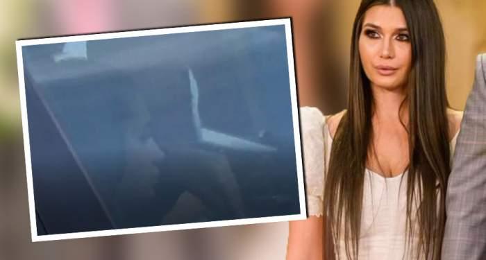 VIDEO PAPARAZZI / Dieta nu e pentru EBA! Asta e mâncarea la care fiica lui Traian Băsescu nu renunţă nici în ruptul capului