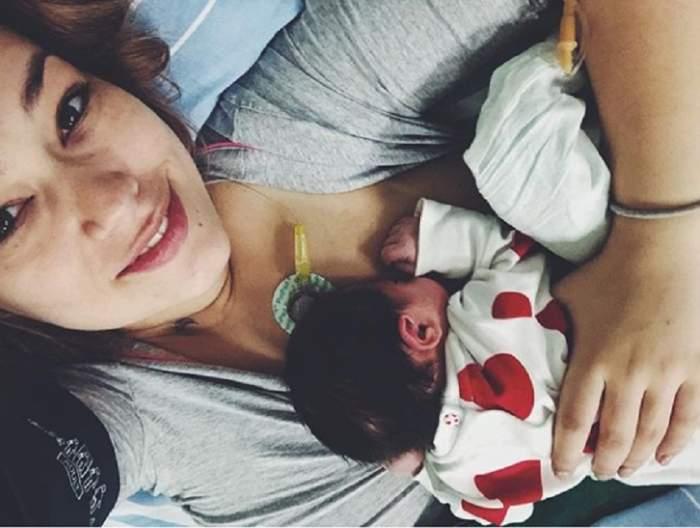 FOTO / Feli a născut! Prima poză cu Nora Luna