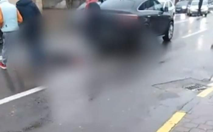"""VIDEO / Omorâtă pe trecerea de pietoni de un om de afaceri! """"A trecut cu mașina peste ea"""""""