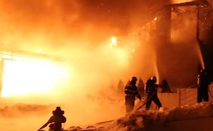 Explozie puternică într-o locuință din Vatra Dornei! Un bebeluș a murit