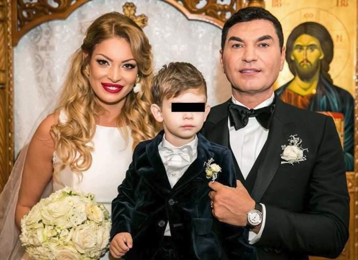 FOTO / Imagine adorabilă cu Milan de la nunta Valentinei Pelinel cu Cristi Borcea!