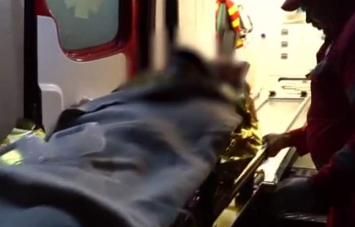 VIDEO / Incident şocant într-o comună din Botoşani! Un bărbat şi-a înjunghiat propriul fiu