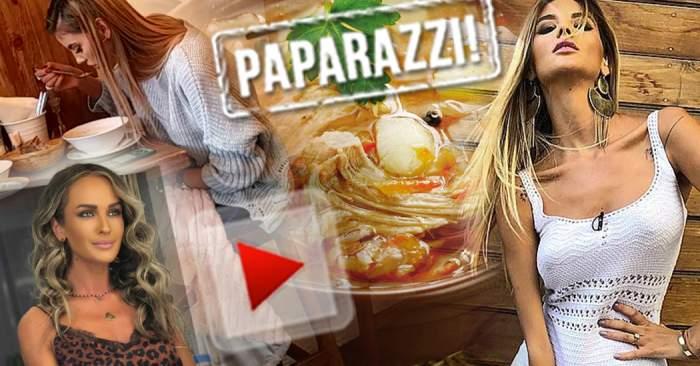 VIDEO PAPARAZZI / O ciorbă i-a venit de hac asistentei de la emisiunea Dianei Munteanu! Imagini uluitoare cu vedeta