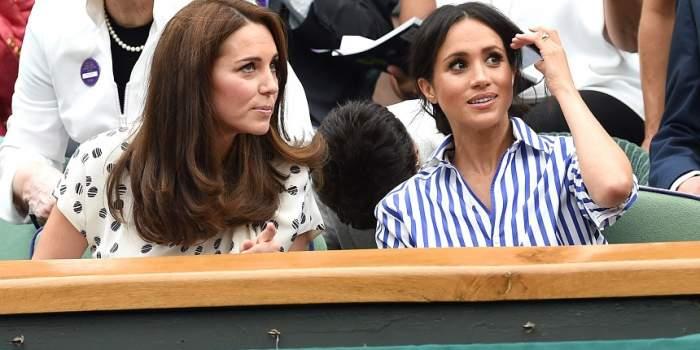 """Când a început """"ranchiuna"""" dintre Kate Middleton și Meghan Markle? Experții în limbajul trupului au spus tot"""