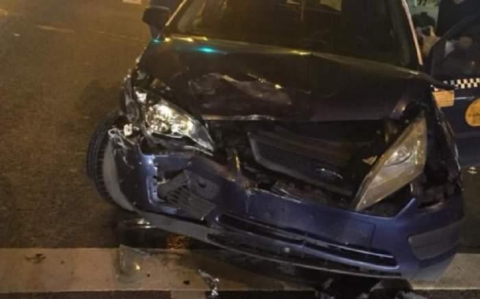 Accident rutier grav în Cluj! Un taximetrist ar fi vinovat de impact