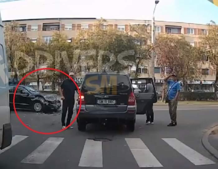 VIDEO / Accident teribil produs în Satu-Mare! Tragedia a fost filmată