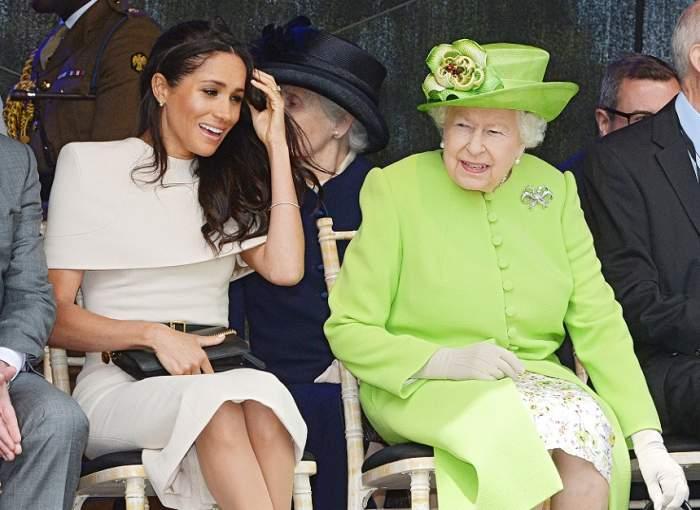 Regina Elisabeta, gest de maxim respect față de mama lui Meghan Markle. Ce propunere a primit aceasta, din partea Majestății Sale