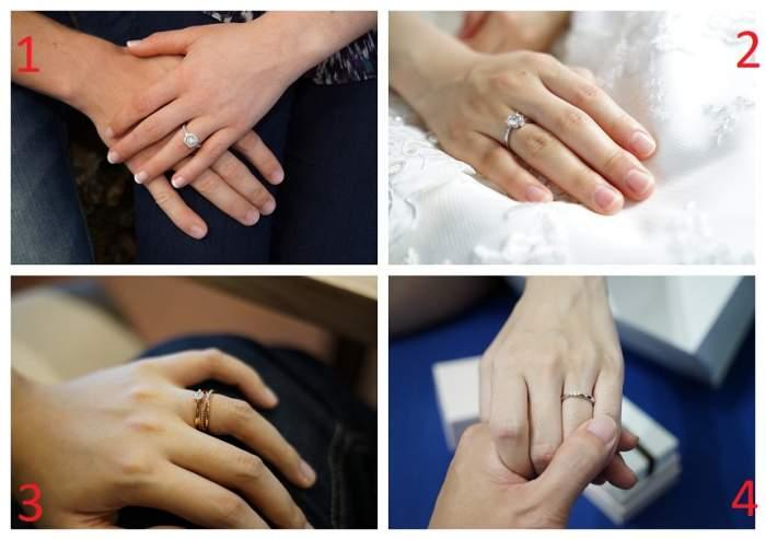 FOTO / TEST: Alege un inel de logodnă și află dacă vei divorța vreodată sau sunteți suflete pereche