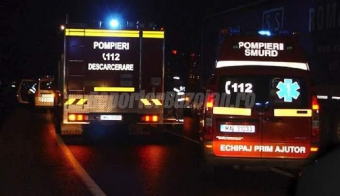 Accident grav la Ulmeni! Trafic blocat, după ce două maşini s-au ciocnit