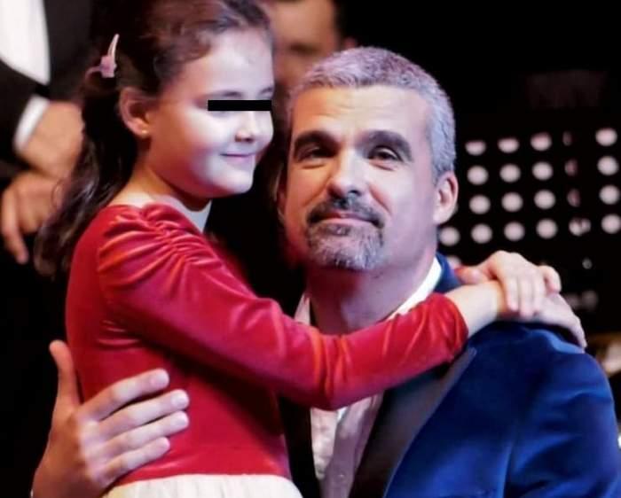 VIDEO / Aurelian Temişan şi-a făcut fiica să plângă de ziua ei. Ce cadou a putut să-i ofere micuţei