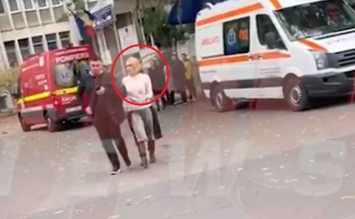 VIDEO / Andreea Esca a mers la spital la Florin Busuioc. Vedeta, îngrijorată și abătută după ce Busu a făcut infarct