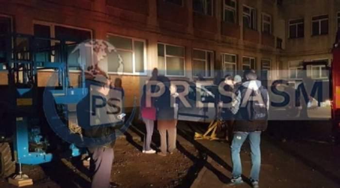 Incendiu la un spital din Satu Mare! 30 de persoane au fost evacuate