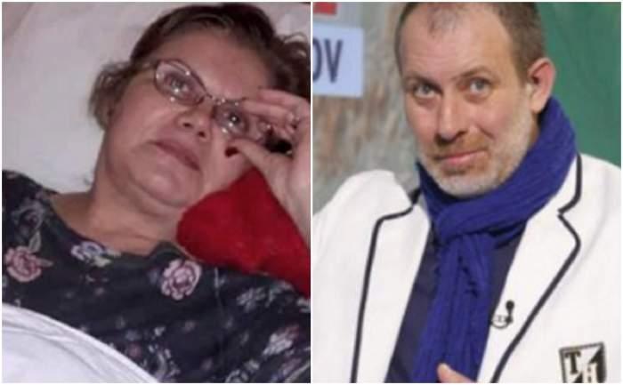 """VIDEO / Natașa Raab, alături de Florin Busuioc, de pe patul de spital: """"În fiecare seară murim câte un pic"""""""