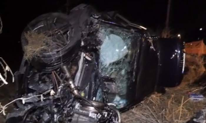 VIDEO / Accident foarte grav pe DN1, în Alba! Un tânăr de 26 de ani a murit