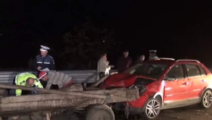 VIDEO / Accident foarte grav în Bistriţa-Năsăud! Un tânăr de 21 de ani a murit în chinuri groaznice