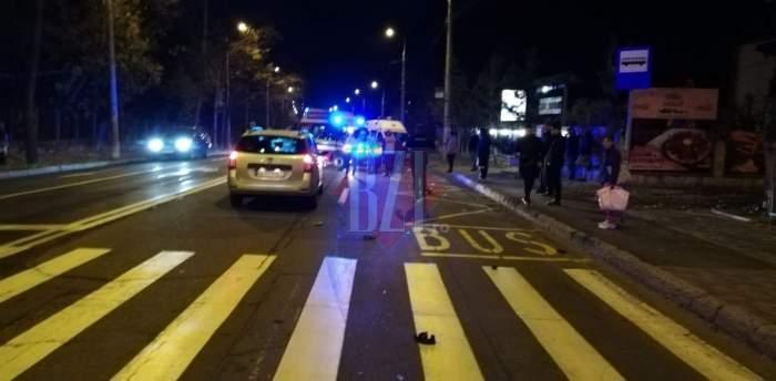 FOTO / Noapte de coşmar în Iaşi! O femeie a murit călcată de tren, iar alte două persoane au fost lovite pe trecerea de pietoni