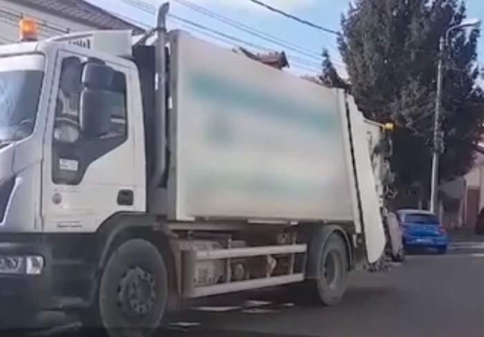 VIDEO  / Tânăr de 19 ani din Constanţa, strivit de maşina de salubritate! Colegul lui e rănit grav