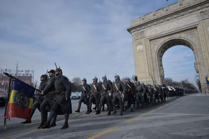 Incidente la parada militară de 1 decembrie! 17 bucureșteni au ajuns la spital